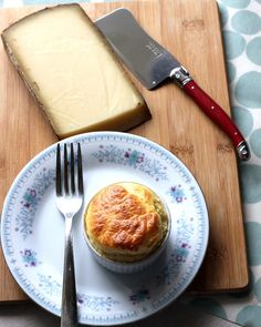 Comte cheese souffle