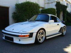 Porsche 935 in the garage