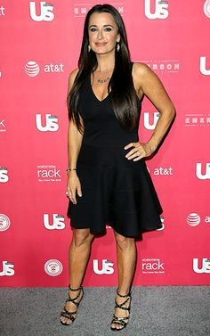 Kyle Richards. I have a dress a lot like this that I wear all the time!