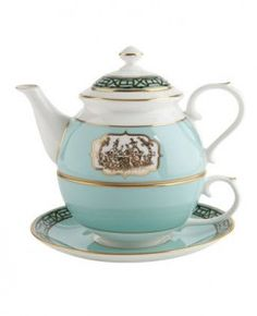 fortnum and mason tea pot Not a fan of these - pot on top of a cup but this one is rubbing off on me. :)