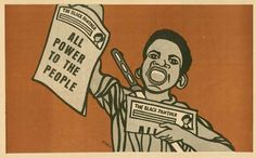 Emory Douglas: All Power to the People, March 9 1969. Poster.
