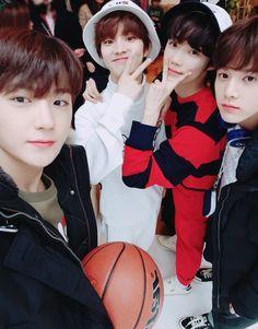 The Boyz When sparkling Boys and cartoon boys meet Joo Haknyeon, Fandom, Hey Man, Be My Baby, We The Best, Kdrama Actors, I Meet You, Read News, Youngjae