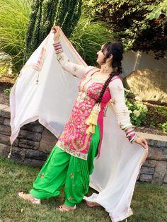 Punjabi Salwar Suits, Patiala, Shalwar Kameez, Indian Wear, Sari, Classic, Awesome, How To Wear, Ideas