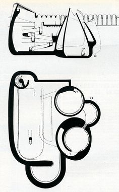 Joern Utzon. Architectural Review v.135 n.807 May 1964 (via RNDRD)