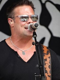 Troy Gentry of Montgomery Gentry, onstage at Jamboree In The Hills 2014 - Sunday, July 20, 2014.  Click thru to the original gallery for many more pics!!!  For ALL of our Jamboree In The Hills Photo galleries, go to: http://www.wovk.com/articles/jith-489575/jamboree-in-the-hills-12962938/