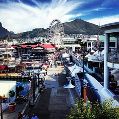 V&A Waterfront in iKapa, Western Cape Cape Town Tourism, V&a Waterfront, Cape Town South Africa, Business Travel, Travelling, Travel Destinations, Wanderlust, Adventure, City