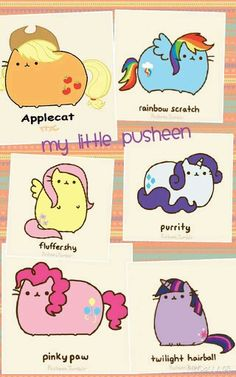 My little...PUSHEEN