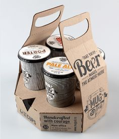 Take away beer carrier