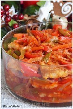 Ryba po japońsku Shellfish Recipes, Seafood Recipes, Cooking Recipes, Fish Dishes, Seafood Dishes, Vegan Junk Food, Seafood Salad, Asian Recipes, Ethnic Recipes