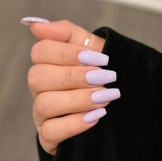 Imagem de lilac, nails, and purpleYou are in the right place about toe nail ideas Here we offer you the most beautiful pictures about the nail ideas neutral you are looking for. When you examine the Imagem de lilac, nails, and purple part of the pi Purple Acrylic Nails, Acrylic Nails Coffin Short, Pastel Nails, Best Acrylic Nails, Coffin Nails, Simple Acrylic Nail Ideas, Light Purple Nails, Nail Pink, Orange Nail