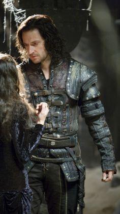 Richard Armitage as Guy of Gisborne.  Visual inspiration for Ballard de Sauveterre.