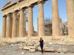 What a day ! Greece  #iwanttospendtherestofmylifewithlaughing#karmacomesaround#travel#vacation#tbt#acropolis#history#business#girl#woman#peace#love#like#enjoy#hope#izmir#greece#turkey#athens by sevillllaaa