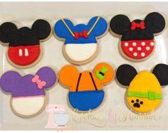 Galletas de Mickey Mouse Clubhouse Incluye  Mickey 2 Minnie 2 Goofy 2 2  Donald Margarita 2 2 Pluto Consulte las políticas de gastos de envío antes  de ... 99cd452ef4f
