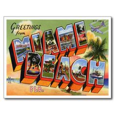 >>>Are you looking for          	Vintage Miami Beach Postcard           	Vintage Miami Beach Postcard Yes I can say you are on right site we just collected best shopping store that haveThis Deals          	Vintage Miami Beach Postcard today easy to Shops & Purchase Online - transferred directl...Cleck Hot Deals >>> http://www.zazzle.com/vintage_miami_beach_postcard-239766366167976993?rf=238627982471231924&zbar=1&tc=terrest