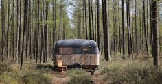 He Converted A Vintage Caravan Into A Mobile Workspace — See The Beautiful Photos! via LittleThings.com
