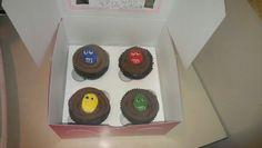 M+M Surprise Cupcakes