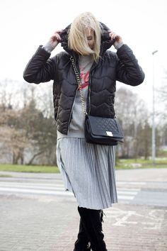 Grey, the King! Winter Jackets, King, My Style, Grey, Fashion, Winter Coats, Gray, Moda, Winter Vest Outfits