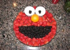 Best fruit tray ideas for kids birthday parties sesame streets 31 ideas Sesame Street Food, Sesame Street Party, Sesame Street Birthday, Sesame Streets, Elmo Birthday, Boy Birthday Parties, Fruit Birthday, Elmo Party, Fruit Party