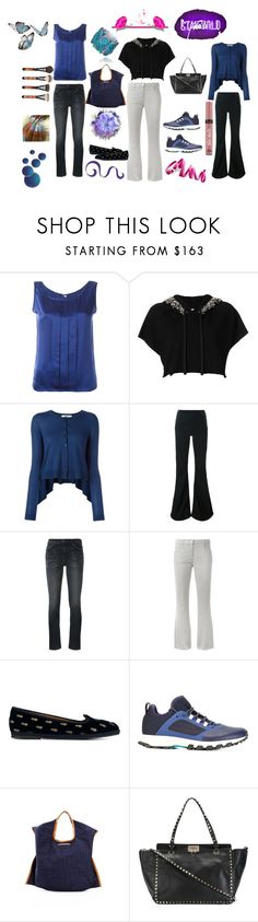 """My choice is always best.. yours????"" by jamuna-kaalla ❤ liked on Polyvore featuring Jean-Louis Scherrer, Amen, Dorothee Schumacher, Off-White, Current/Elliott, Chanel, Aquazzura, adidas, Xaa and Valentino"
