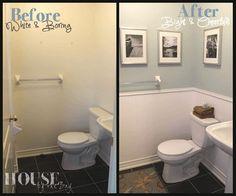 reformas de banheiros antes e depois