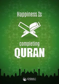 ~Amatullah | happiness is..... Completing Qur'an
