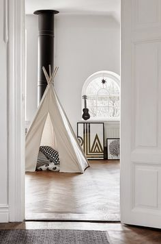 kids tent playroom