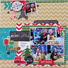 Have Yourself a Merry Little Christmas - Scrapbook.com