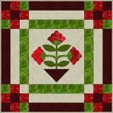 What Is Applique?: Floral Applique Medallion Quilt