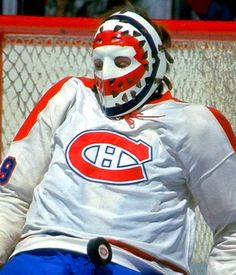 "Ken Dryden, Goalie  Montreal Canadiens ""Target Mask""  1 of 50 Best Goalie Mask Designs in NHL History"