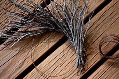 Rock River Stitches: Make Your Own Primitive Fall Twig Wreath