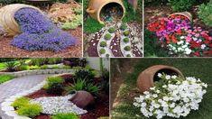 Prekrásne jarné nápady do záhrady – namiesto klasických črepníkov, ktoré stoja na záhrade a terase skúste niečo kreatívnejšie. Prekrásne rozliate kvety oživia každý jeden dvor. :-) Plants, Plant, Planets