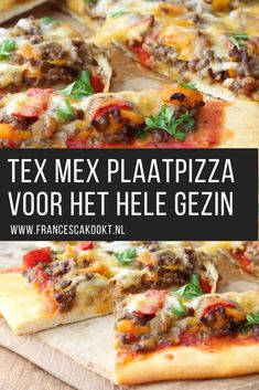 Tex Mex, Lunch Wraps, Hawaiian Pizza, I Love Food, Mexican Food Recipes, Food And Drink, Yummy Food, Pasta, Meals