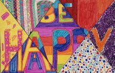 a faithful attempt: Elements of Art Word Design Classroom Art Projects, School Art Projects, Art Classroom, Elements And Principles, Elements Of Art, Middle School Art, High School, School Days, School Stuff