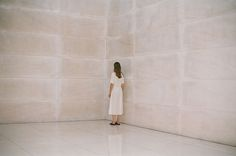 paloma wool collaboration with berta bernad, shot in a museum space.