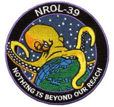 17 Sinister Spy Satellite Mission Patches