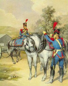 Conduttori del treno di artiglieria della guardia reale