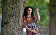 Masih Alinejad, 37, a Britain-based Iranian journalist, poses for a portrait in London October 8, 20... - REUTERS/Toby Melville