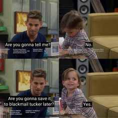 "#BabyDaddy 6x01 ""To Elle and Back"" Comedy Series, Tv Series, Baby Daddy Tv Show, Baby Daddy Humor, Melissa & Joey, School For Good And Evil, Lame Jokes, Swamp Thing, Baby Songs"