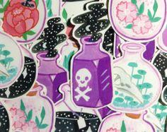 Jardín de la bruja Sticker Pack