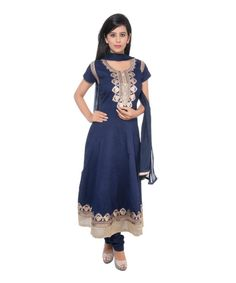 Bollywood Indian Salwar Suit Straight Fit Blue Color Cotton Fabric Designer Salwar Kameez Printed Churidar Suit Party Wear Salwar Kameez