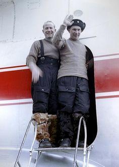 Belyayev and Leonov are welcomed home (Ria Novosti/Science Photo Library)