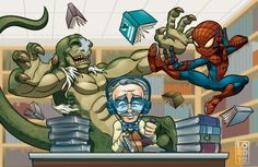 **Spoiler** Lil Spidey Hittin' the Books by lordmesa.deviantart.com    Loved this movie!!