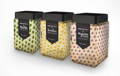 Organic Motif Merchandizing - Domaci Caj Tea Packaging is Infused with Lively Forms of Loose Leaf (GALLERY)