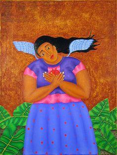 Angel de las Desaparecidos   Fernando Olivera (Oaxaca, Mexico)