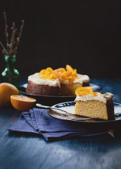 Flourless Orange Cake | a table for two