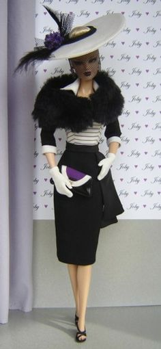 OOAK Fashions for Silkstone Barbie and Fashion Royalty Dolls by Joby Originals