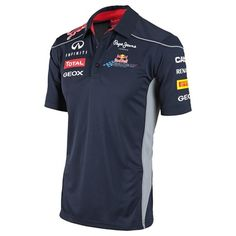Infiniti Red Bull Racing Official Teamline Functional T-Shirt Camisa F1, Team Shirts, Kids Shirts, My T Shirt, Polo Shirt, Sport T-shirts, Race Wear, Swag Outfits Men, Work Uniforms