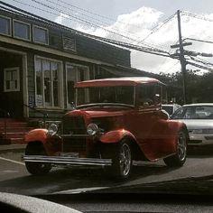 Nice old truck!  #protecautocare #engineflush #ford #classic #american #pickup #truck #custom #orange #customized #carrepair #followus