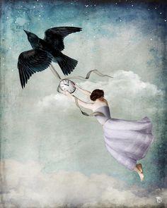 Christian Schloe. She believed in the wings…