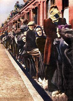 photos réfugiés couleur sanna dullaway